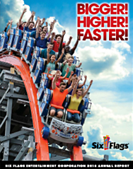 six flag stock price